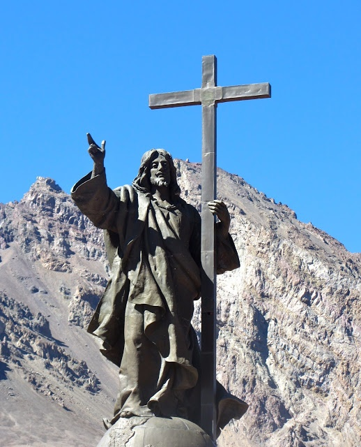 Monday's Monument: Christ of the Andes, Chilean/Argentine Border