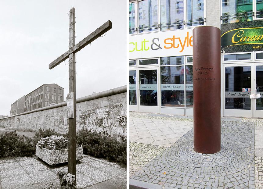 Monday's Monument: Peter Fechter Memorial Obelisk, Berlin, Germany