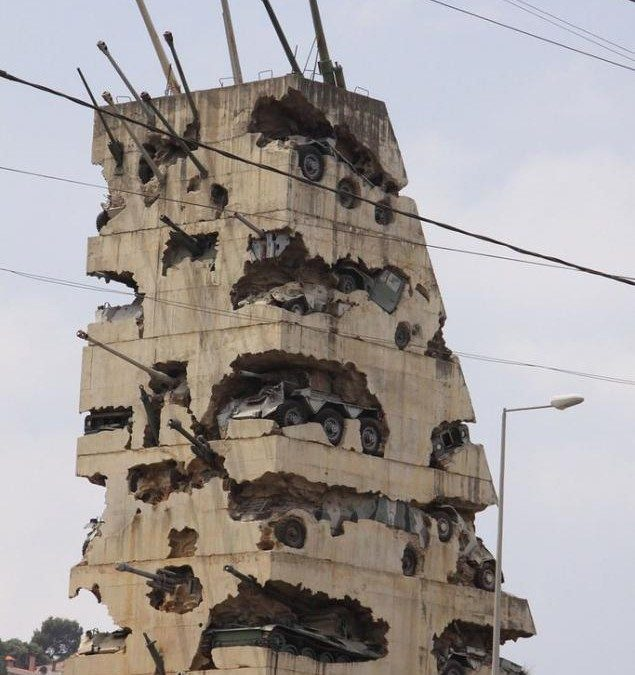 Monday's Monument: Hope for Peace, Beirut, Lebanon