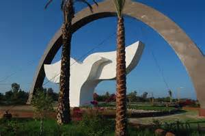 Monday's Monument: Peace Doves, La Paz, Mexico