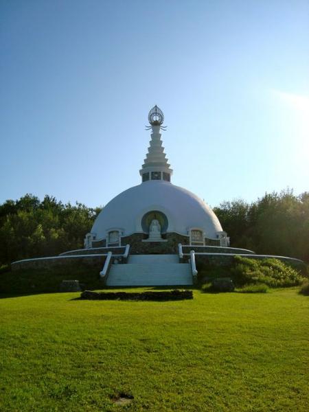 Monday's Monument: Grafton Peace Pagoda, Grafton, NY