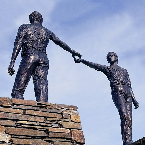 Monday's Monument: Reconciliation/Hands Across the Divide, Derry City, Northern Ireland