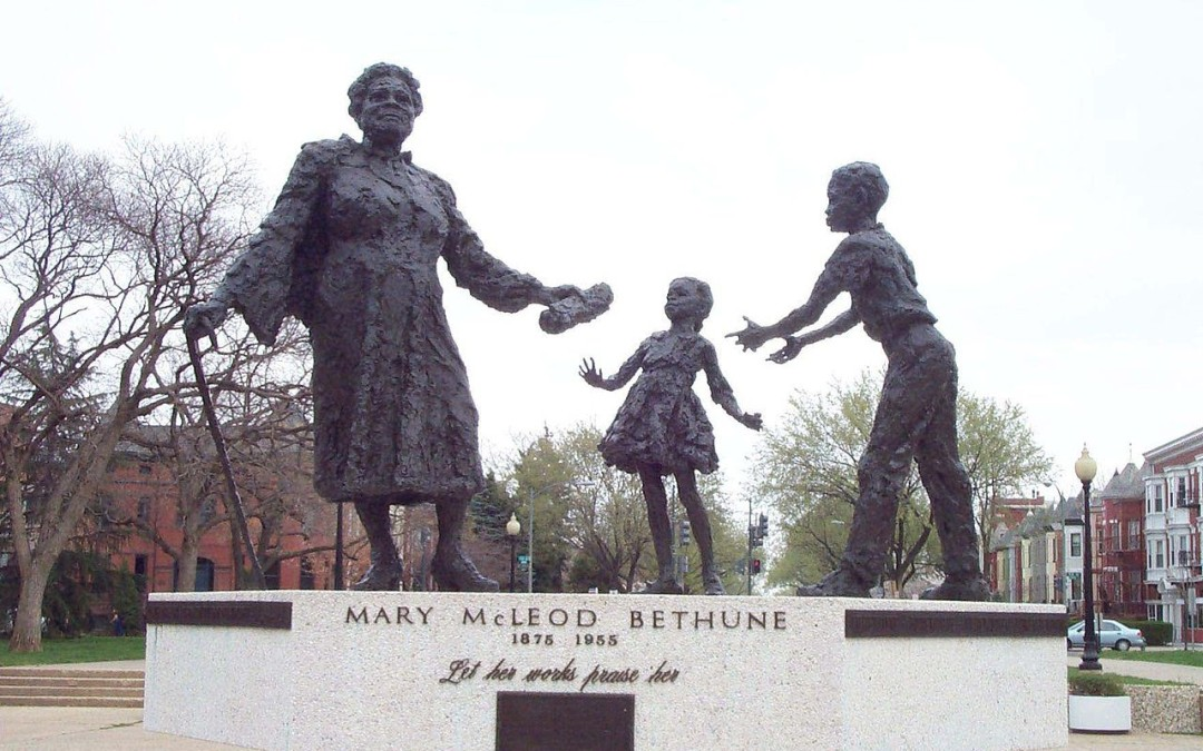 Monday's Monument: Mary McLeod Bethune Memorial, Washington, D.C.