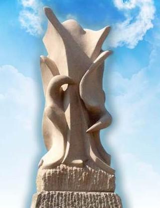 Monday's Monument: Path of Peace Statue, Des Moines, Iowa