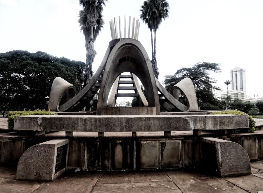 Monday's Monument: Peace, Love and Unity, Nairobi, Kenya