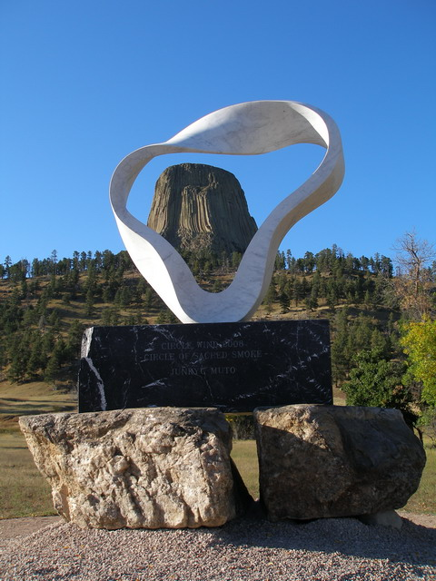 Monday's Monument: Circle of Sacred Smoke, Devils Tower, Wyoming
