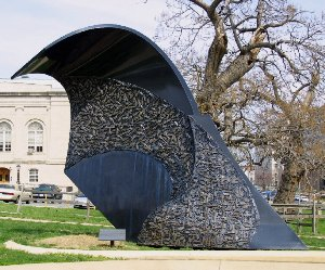 Monday's Monument: Guns Into Plowshares, Washington, DC
