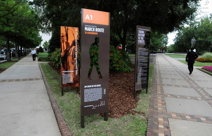 Monday's Monument: Civil Rights Heritage Trail, Birmingham, AL