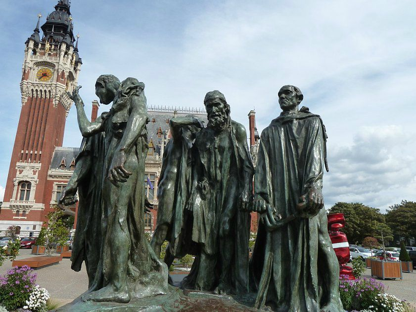 Monday's Monument: Burghers of Calais, Calais, France