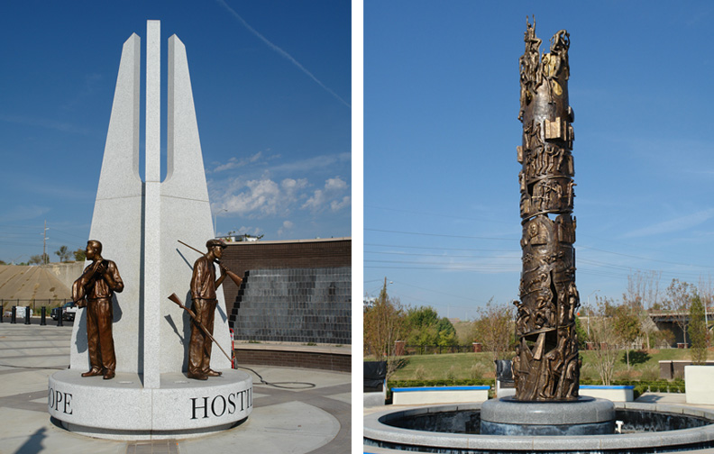 Monday's Monument: John Hope Franklin Tower of Reconciliation, Tulsa, Oklahoma