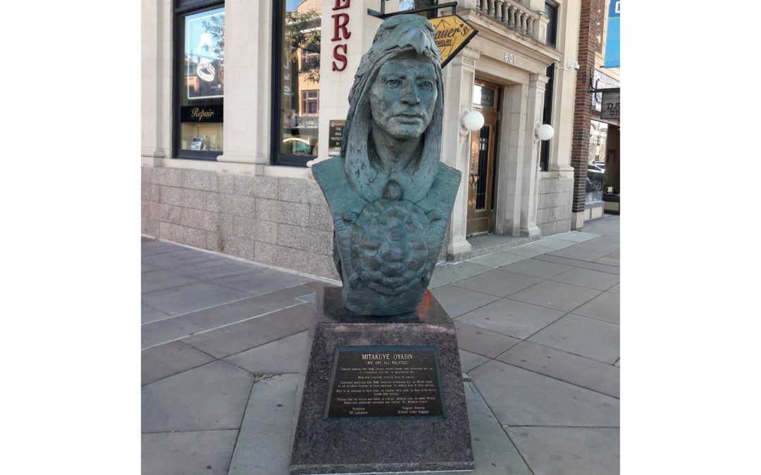 Monday's Monument: Mitakuye Oyasin (All My Relations), Rapid City, SD