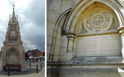 Monday's Monument: American Fountain, Stratford-Upon-Avon, England