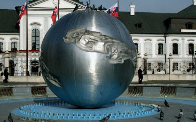 Monday's Monument: Earth – Planet of Peace, Bratislava, Slovakia