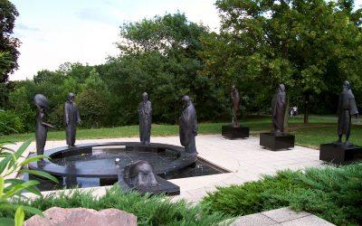 Monday's Monument: Garden of Philosophy, Budapest, Hungary