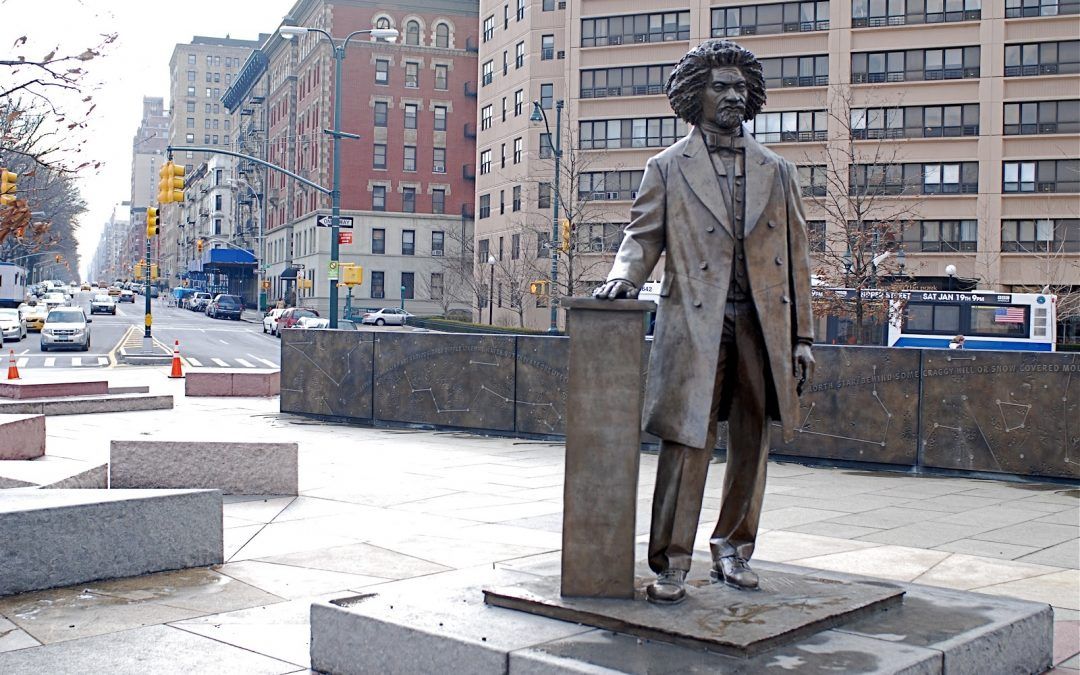 Monday's Monument: Frederick Douglass Memorial, New York, New York