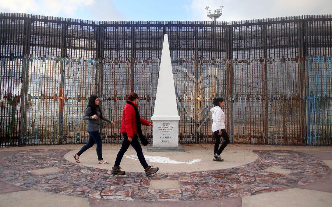 Monday's Monument: US-Mexico Friendship Park and Monument, San Diego, California / Tijuana, Mexico