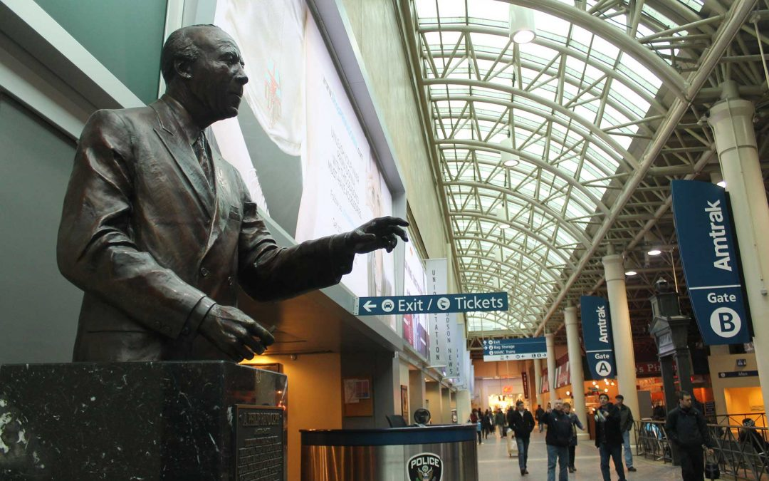 Monday's Monument: A. Philip Randolph Statues, Washington, DC and Boston, Massachusetts