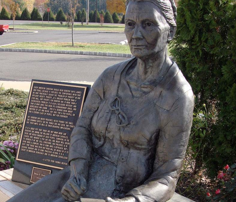 Monday's Monument: Dorothy Day Statue, Colts Neck, New Jersey