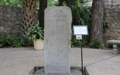 Monday's Monument: Dr. Shiga's Alamo Monument, San Antonio, Texas