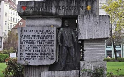 Monday's Monument: Monument for the Victims of Nazi Despotism, Vienna, Austria