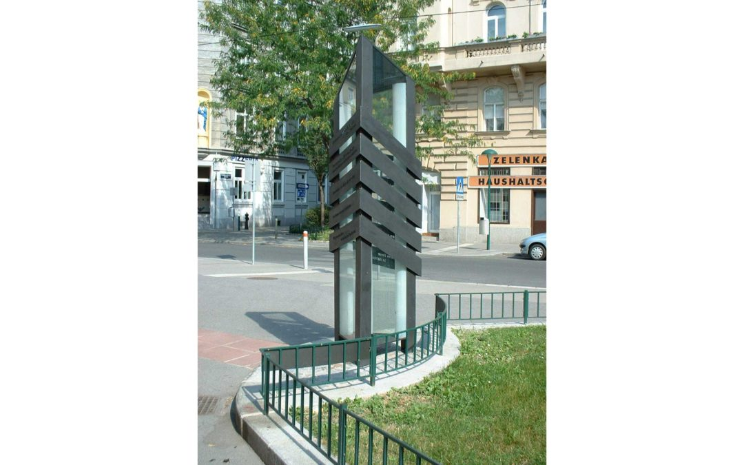 Monday's Monument: Memorial Column for the Righteous, Vienna, Austria