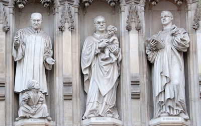 Monday's Monument: 20th Century Martyr Statues, Westminster Abbey, London, England