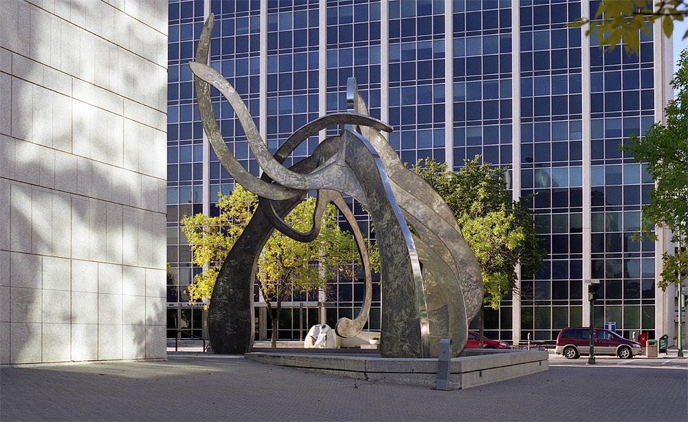 Monday's Monument: Justice, Winnipeg, Canada