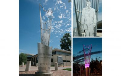 Monday's Monument: Rayo de Esperanza/A Beacon of Hope, Austin, Texas