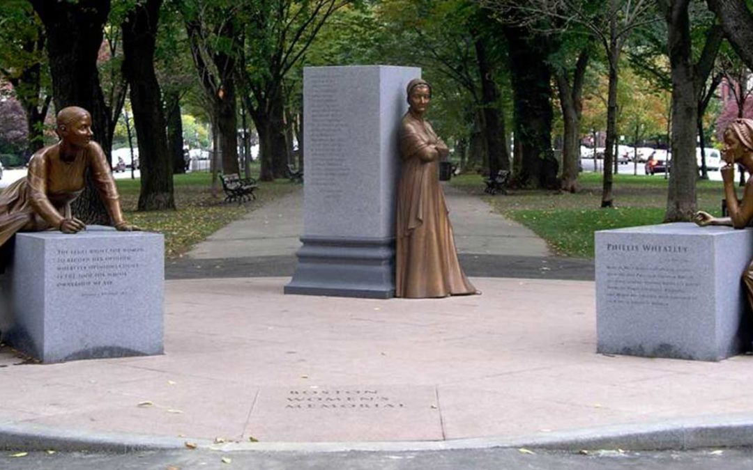 Monday's Monument: Women's Memorial, Boston, Massachusetts