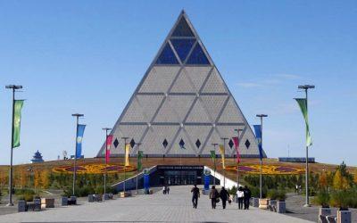 Monday's Monument: Palace of Peace and Reconciliation, Nur-Sultan, Kazakhstan
