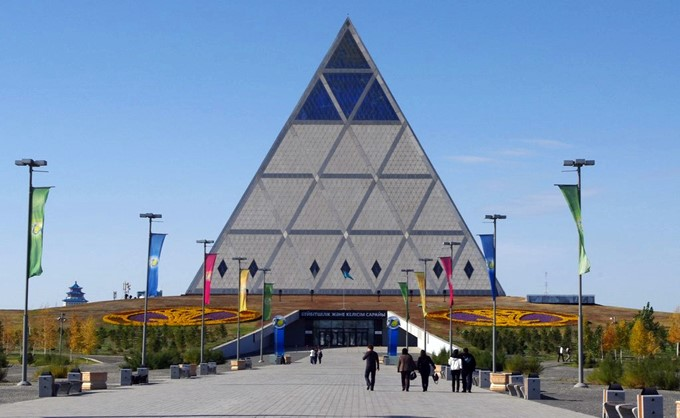 Monday's Monument: Palace of Peace and Reconciliation, Nur-Sultan, Kazakhstan
