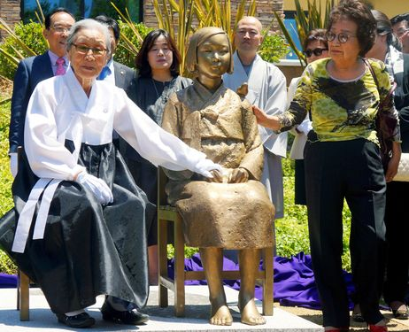 Monday's Monument: Comfort Women Monument, Seoul, South Korea