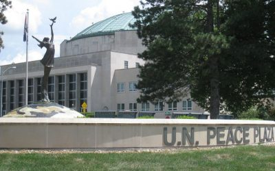 Monday's Monument: United Nations Peace Plaza, Independence, Missouri