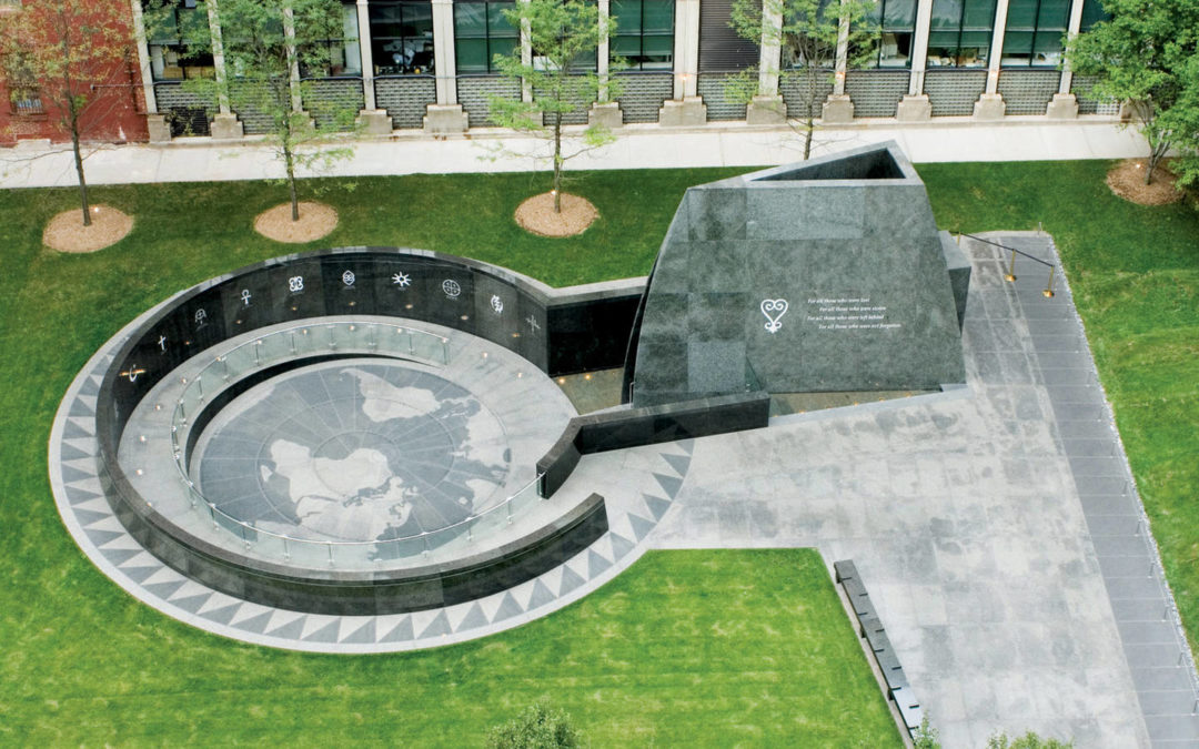 Monday's Monument: African Burial Ground National Monument, New York, New York