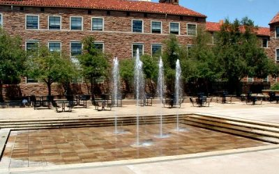 Monday's Monument: Dalton Trumbo Fountain and Plaza, Boulder, Colorado