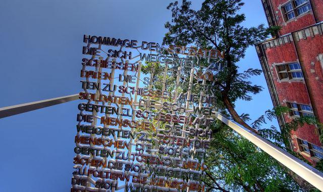 Monday's Monument: Pergola of the Deserter, Cologne, Germany