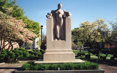 Monday's Monument: Elihu Burritt Memorial, New Britain, Connecticut