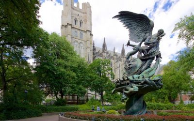 Monday's Monument: St. John the Divine Peace Fountain, New York, New York