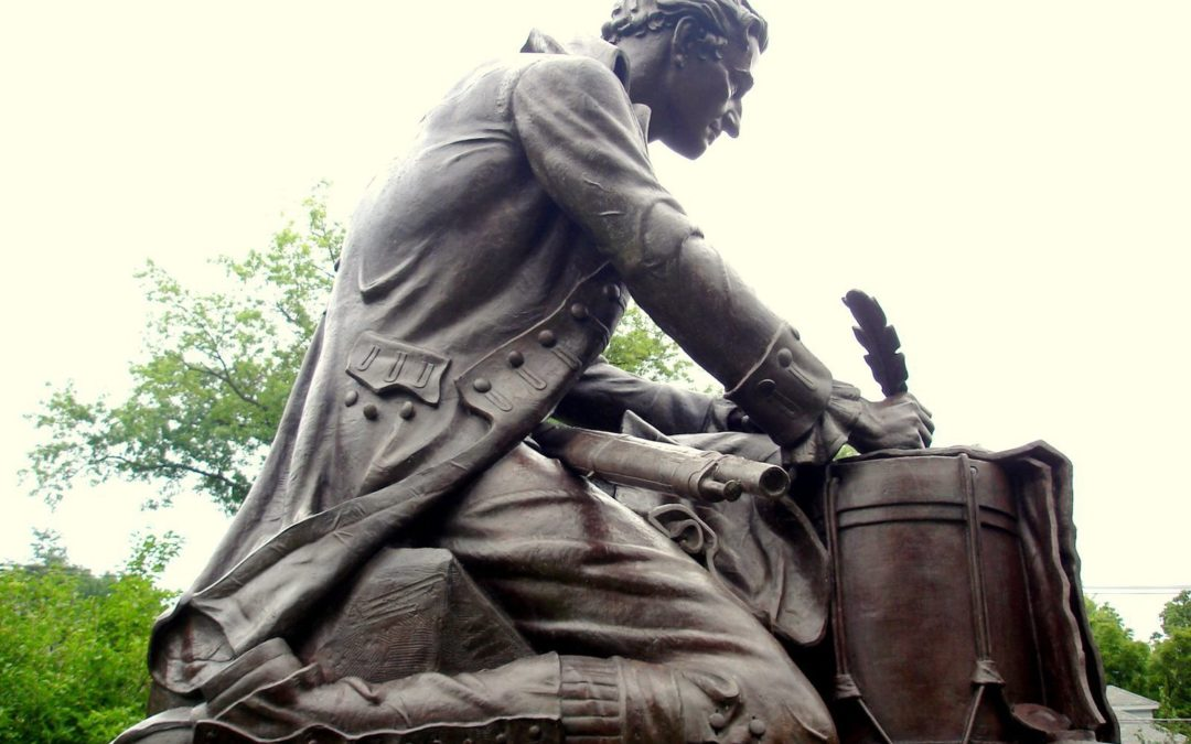 Monday's Monument: Thomas Paine Statues, US, England and France