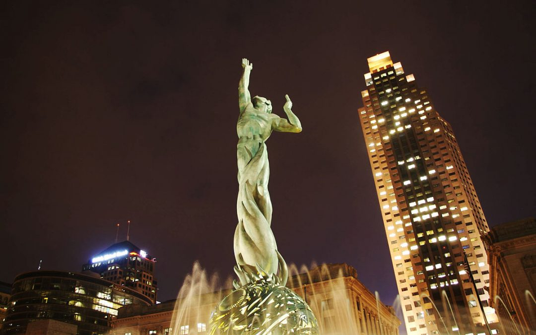 Monday's Monument: Fountain of Eternal Life, Cleveland, Ohio
