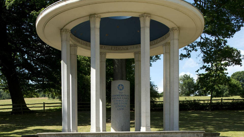 Monday's Monument: Magna Carta Monument, Runnymede, England