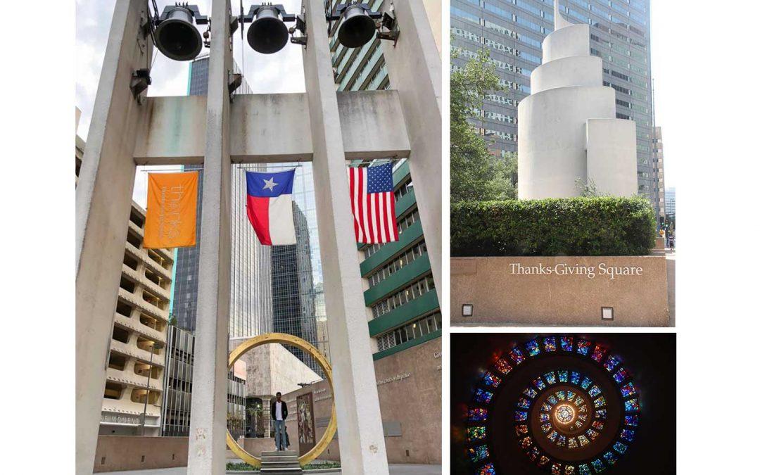 Monday's Monument: Thanks-Giving Square, Dallas, Texas