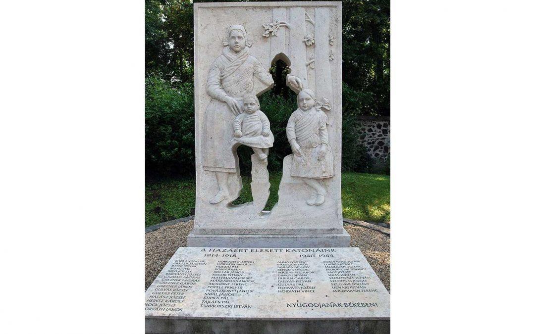 Monday's Monument: World Wars Missing Soldier Monument, Vácrátót, Hungary
