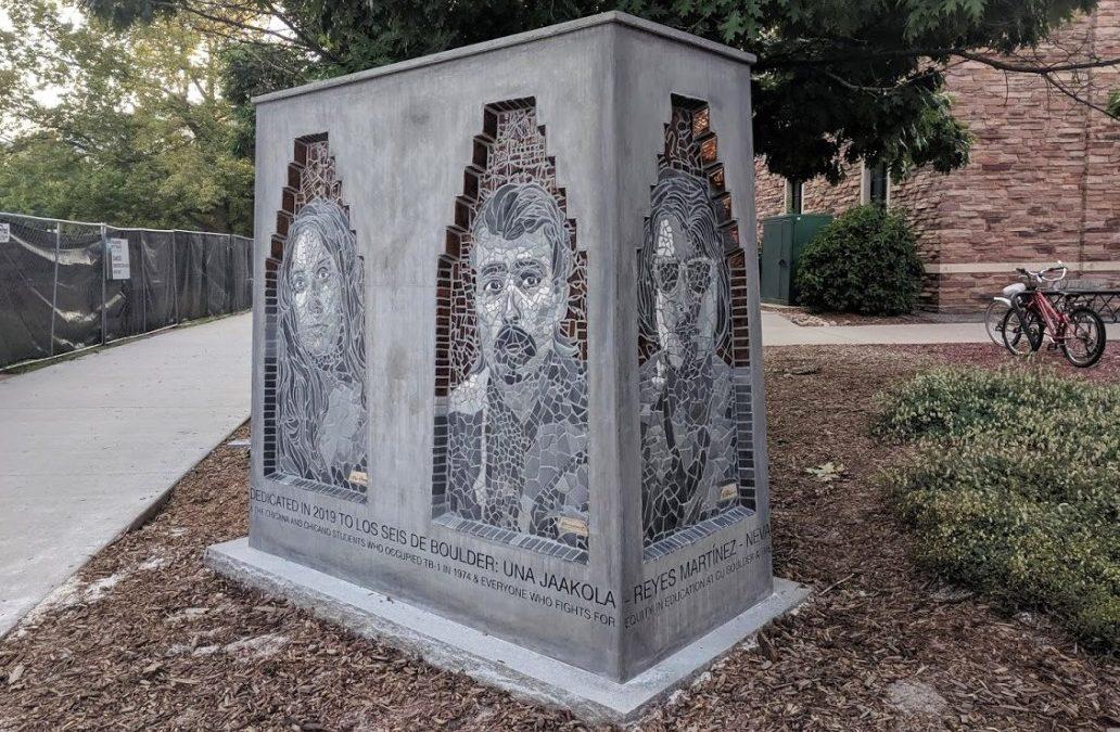 Monday's Monument: Los Seis de Boulder, Boulder, Colorado