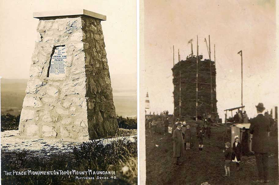 Monday's Monument: Memorial To Beacon Fires, Mt Maunganui, New Zealand