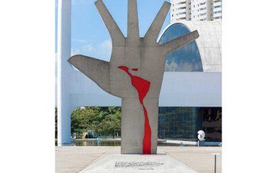 Monday's Monument: A Grande Mão, São Paulo, Brazil