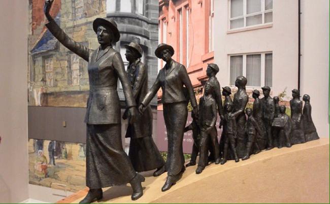 Monday's Monument: Mary Barbour Statue, Glasgow, Scotland