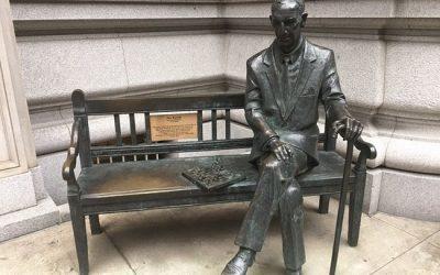 Monday's Monument: Jan Karski Statue, New York, New York