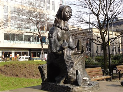 Monday's Monument: Messenger of Peace, Manchester, England