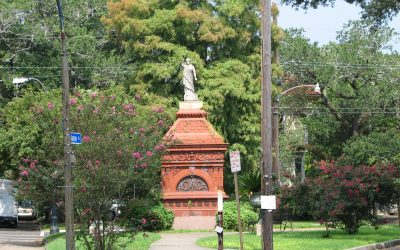 Monday's Monument: Clio: Goddess of History—Genius of Peace, New Orleans, Louisiana